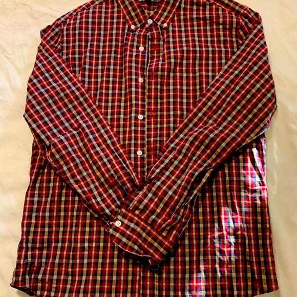 Jcrew mercantile slim large shirt